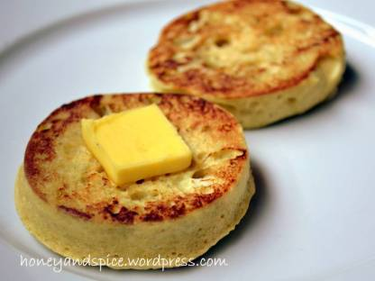 english breakfast muffin butter